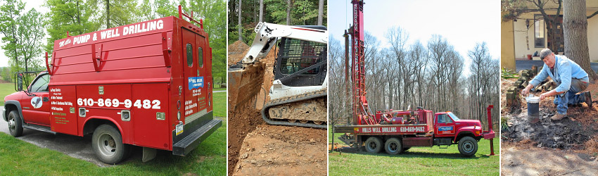 Mills Well Drilling & Pump Service - Chester County PA Area